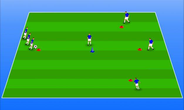 Transmiterea mingii. Tehnica. Conducerea mingii. Exercitiu cu progresie.