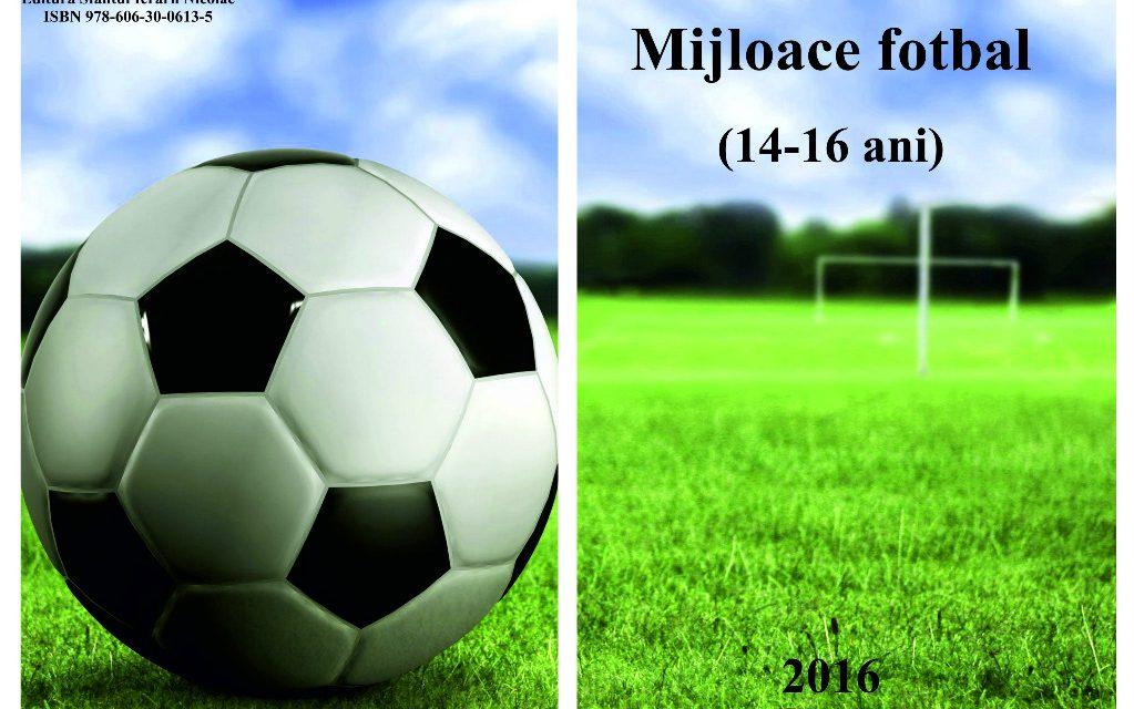 Mijloace fotbal 14-16 ani