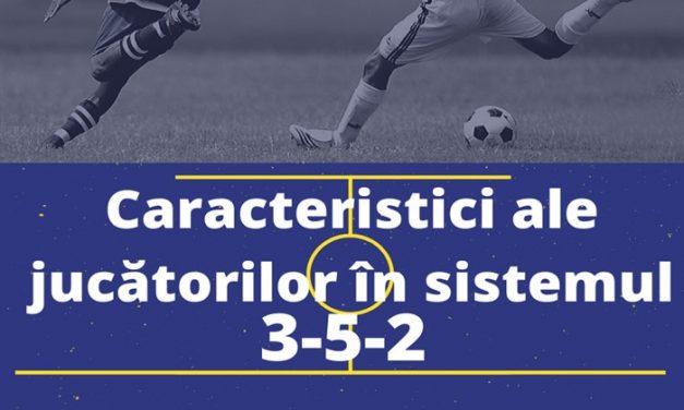 Caracteristici ideale ale jucătorilor în sistemul 3-5-2